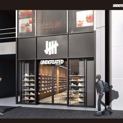 アンディフィーテッドは、渋谷区神宮前の明治通り沿いに2フロアからなる新店舗「UNDEFEATED HARAJUKU MEIJI DORI」をオープン