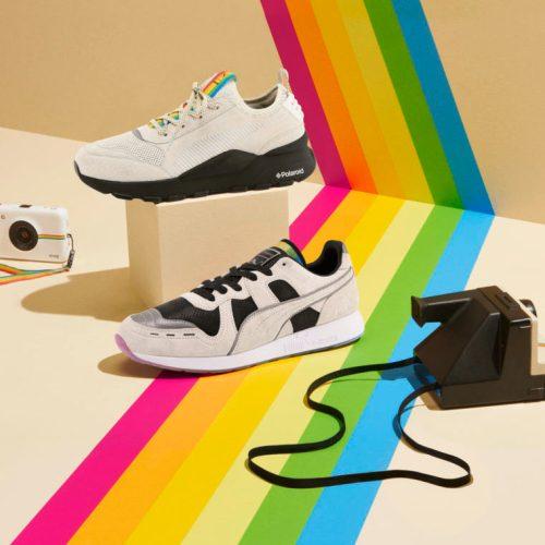 プーマは、家電メーカーのポラロイドとRS シリーズのコラボレーションの2作目となるRS-100 x Polaroidを発表