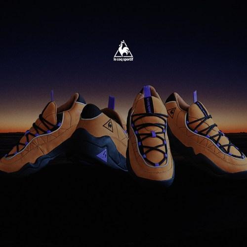 ルコックスポルティフより、1997年にリリースされた LCS TR が mita sneakers によるディレクションモデル LCS TR OG LEとして待望の復刻