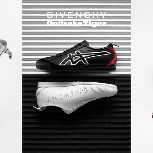 オニツカタイガーとジバンシィが Givenchy 2020SS ピッティ・ウオモのファッションショーにて、MEXICO 66 GDX を発表