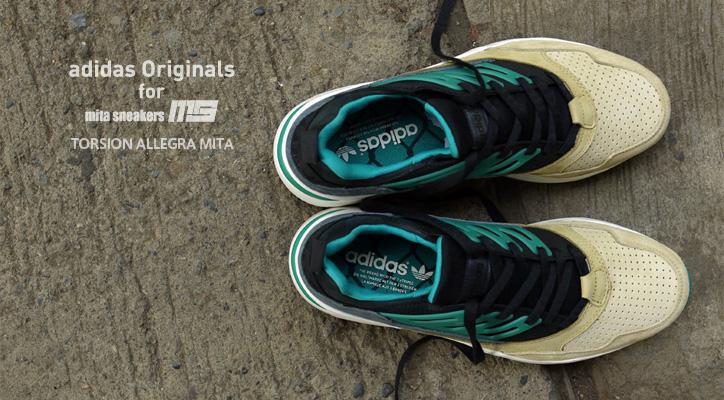 Photo01 - adidas Originals for mita sneakers TORSION ALLEGRA MITAの特集ページを公開