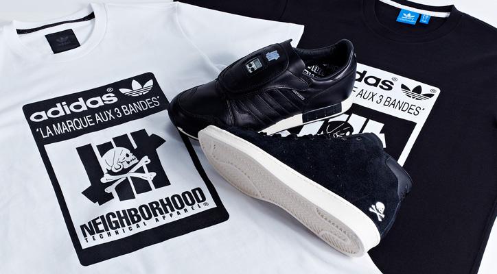 Photo01 - adidas Consortium x UNDEFEATED x NEIGHBORHOOD 2014 SS コレクションが発売