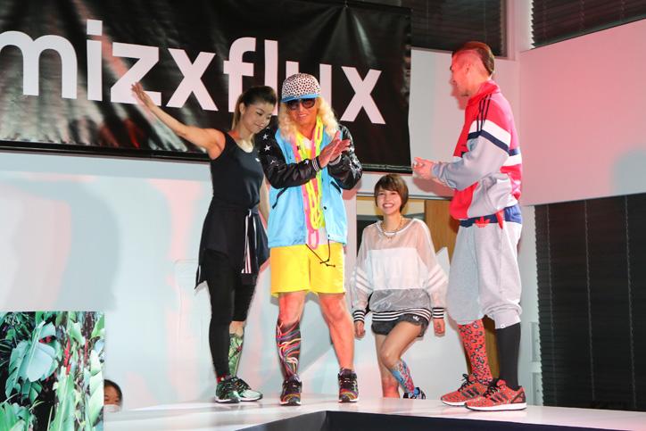Photo02 - アディダスは、スマートフォンで撮影した写真がスニーカーのアッパーデザインになる adidas mi ZX Flux Photo Print がスタート