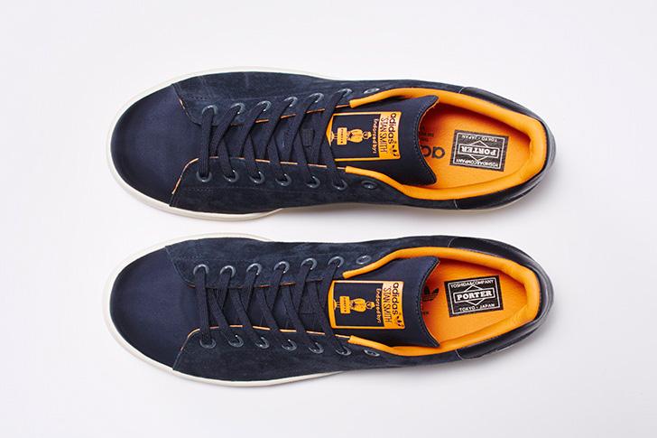 Photo05 - 日本を代表する鞄メーカー 吉田カバンの創業80周年を記念した adidas Originals x PORTER Stan Smith から新色のネイビーが登場