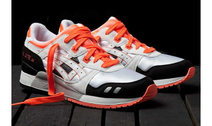 Photo02 - ASICS GEL LYTE III ORANGE BLAZE