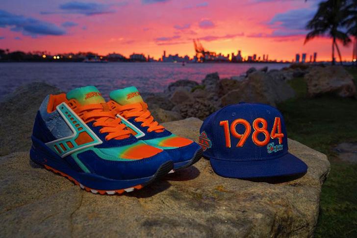 """Photo01 - ブルックスは、マイアミのスニーカーショップShoe Galleryとのコラボモデル""""84 Fins"""" Regentを発売"""