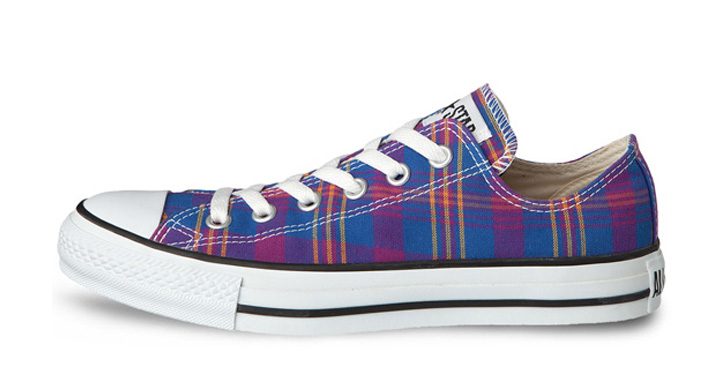 "Photo03 - CONVERSE CHUCK TAYLOR ""FRENCH MADRAS"" PACK"