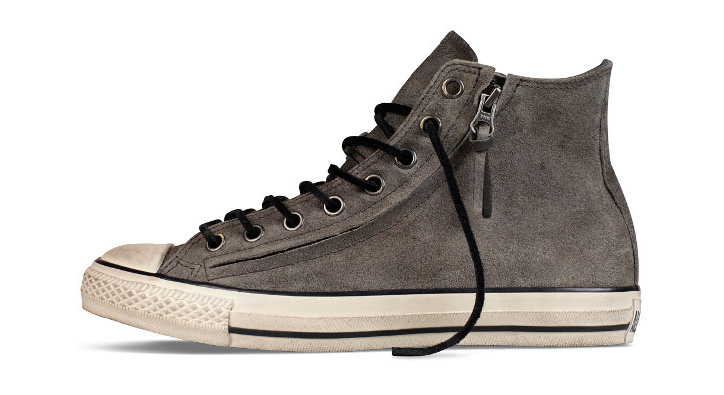 Photo08 - CONVERSE BY JOHN VARVATOS CHUCK TAYLOR DOUBLE ZIP BURNISHED SUEDE PACK