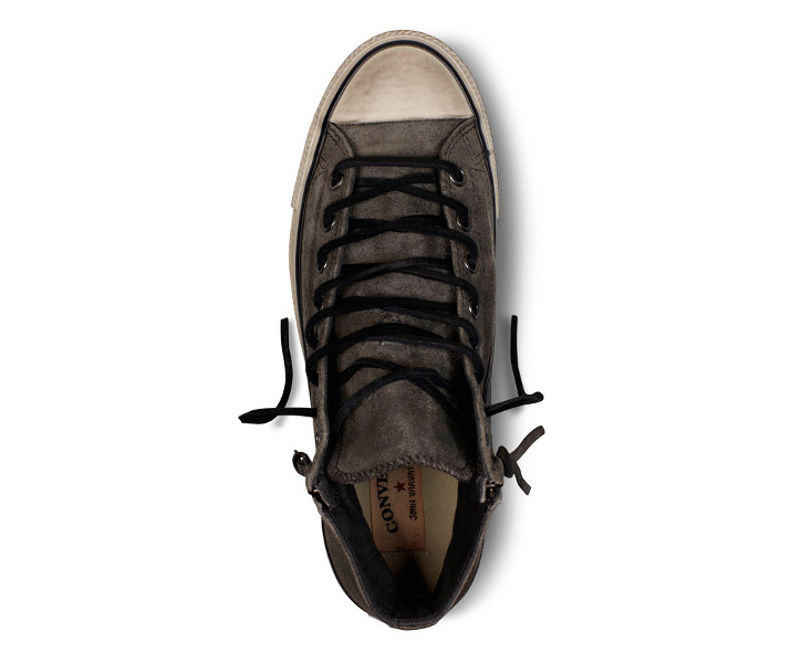 Photo11 - CONVERSE BY JOHN VARVATOS CHUCK TAYLOR DOUBLE ZIP BURNISHED SUEDE PACK
