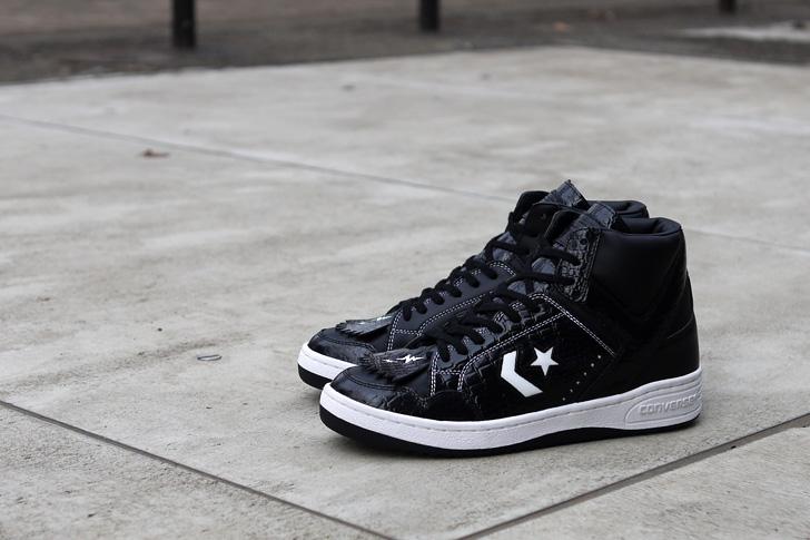 Photo04 - コンバースは、WHIZ LIMITEDとmita sneakersとのコラボレーションモデルWEAPON HI / WZ MSを発売