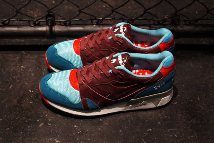 "Photo03 - Hanon x diadora N.9000 ""The Saturday Special"" が日本国内2店舗で発売"