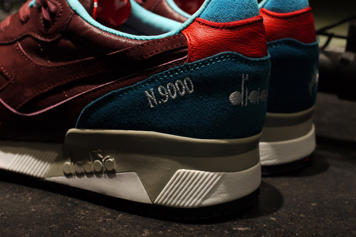 "Photo06 - Hanon x diadora N.9000 ""The Saturday Special"" が日本国内2店舗で発売"