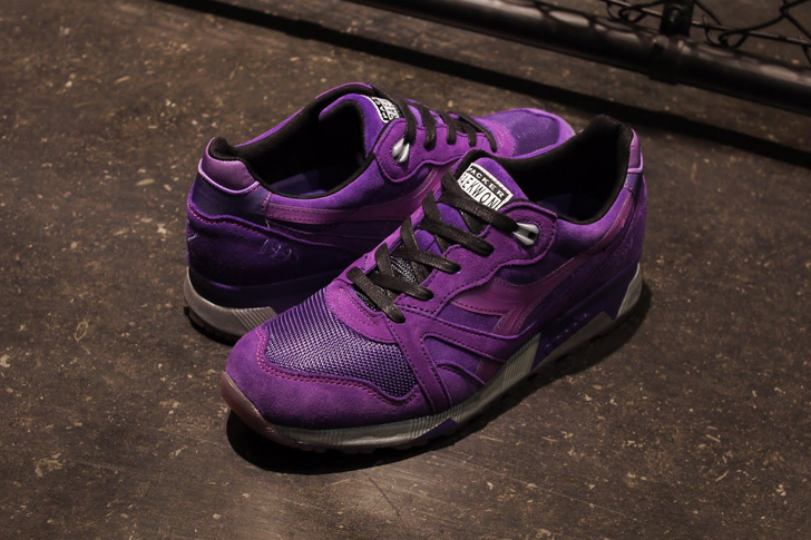 "Photo01 - RAEKWON x Packer Shoes x diadoraのコラボモデルN.9000 ""Purple Tape""が発売"