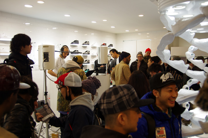 Photo16 - Interview with Bobbito Garcia & Kevin Couliau at NIKE AIR FORCE 1 THE PIVOT POINT