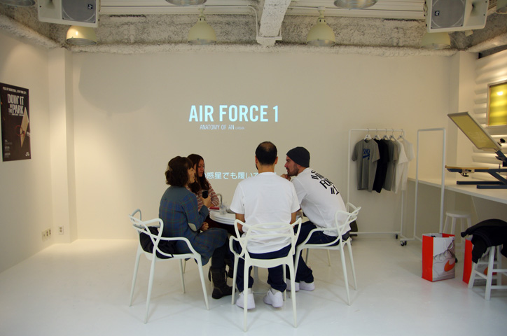 Photo Bobbito 01 - Interview with Bobbito Garcia & Kevin Couliau at NIKE AIR FORCE 1 THE PIVOT POINT