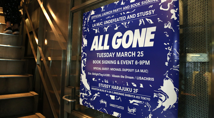 Photo01 - 「ALL GONE」BOOK SIGNING EVENT Recap