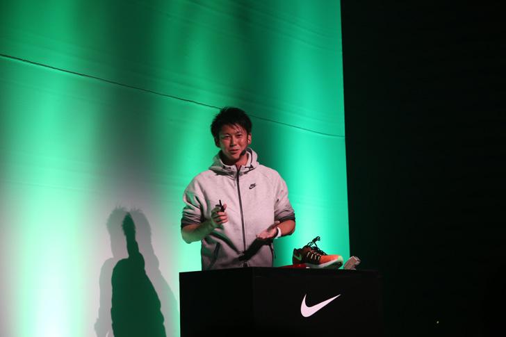 Photo04 - ナイキ、大迫傑選手と為末大氏を招きナイキ ズーム エア コレクションを発表