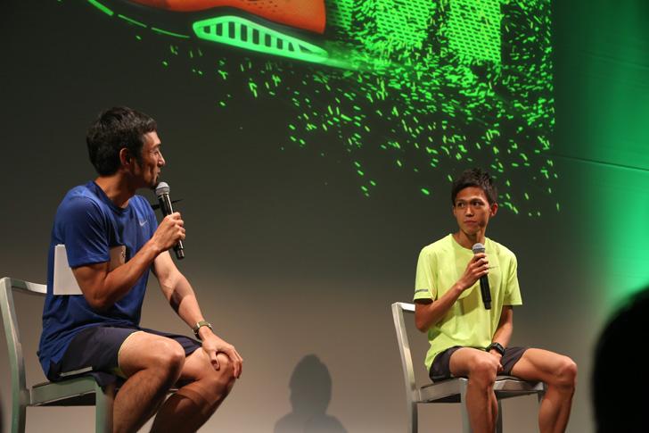 Photo06 - ナイキ、大迫傑選手と為末大氏を招きナイキ ズーム エア コレクションを発表