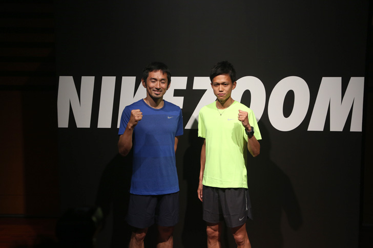 Photo13 - ナイキ、大迫傑選手と為末大氏を招きナイキ ズーム エア コレクションを発表