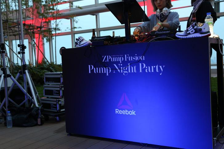 Photo01 - リーボックは、ZPump Fusionのニューカラーの発売を記念し Pump Night Party を開催