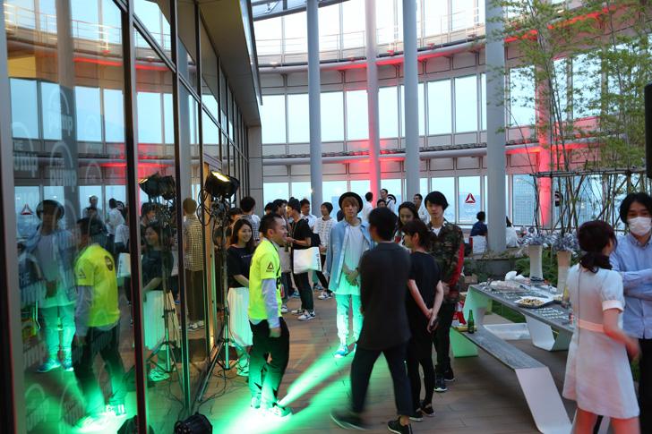 Photo05 - リーボックは、ZPump Fusionのニューカラーの発売を記念し Pump Night Party を開催