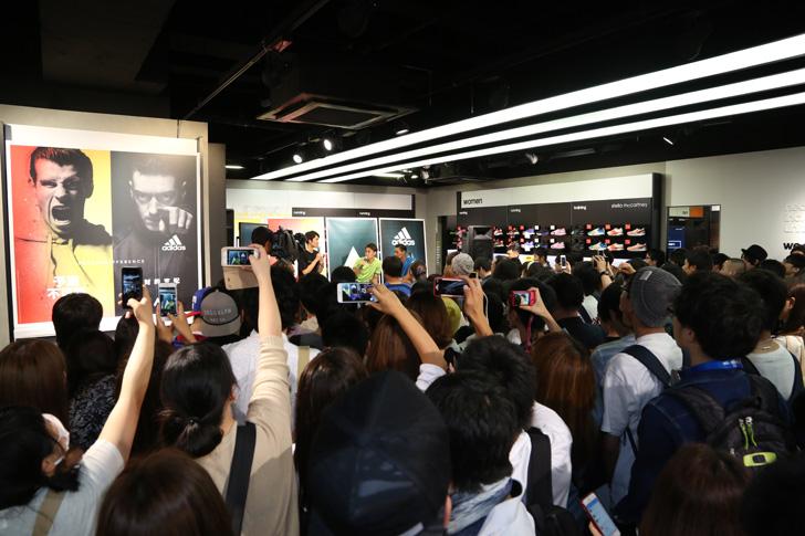 Photo05 - アディダスは、最新フットボールスパイク「X/ACE」の発売を記念して香川真司選手、槙野智章選手を招いたイベントを開催