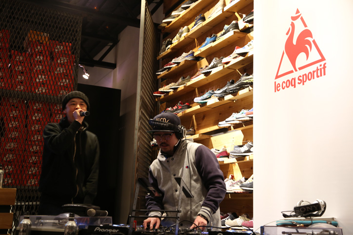 Photo21 - 「Resurrection! le coq sportif」と題された2015 SPRING & SUMMER COLLECTIONのローンチパーティーが開催