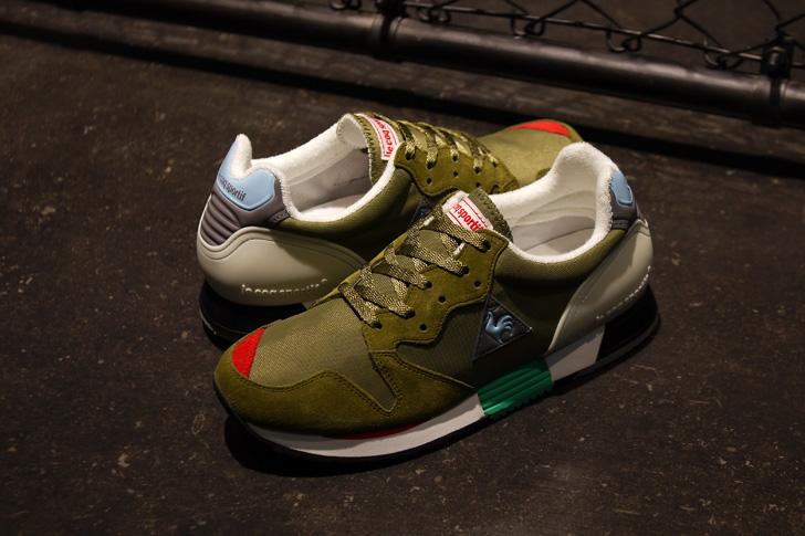 Photo01 - ルコックスポルティフは、mita sneakersクリエイティブディレクター国井氏がカラーディレクションを手掛けたEUREKAを発売