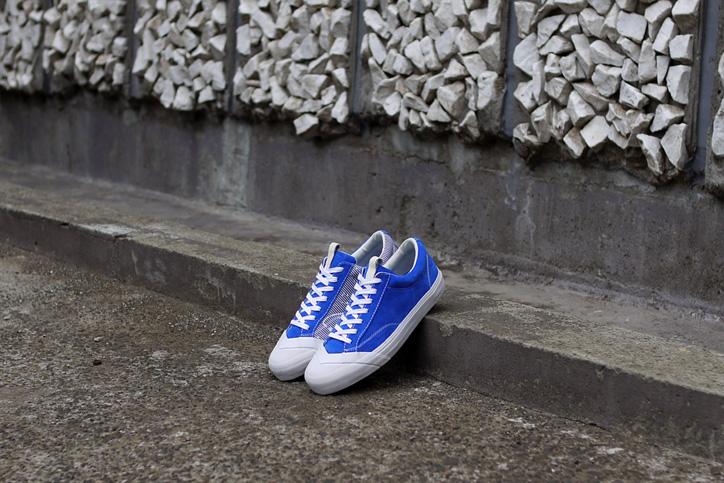 "Photo11 - LOSERS デザイナー sneakerwolf氏がドリッピング加工を施した LOSERS SCHOOLER LO ""Cobalt"" ""mita sneakers x sneakerwolf""を発売"