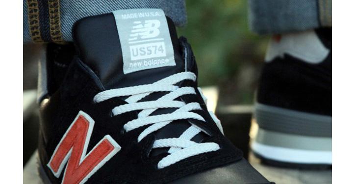 """Photo05 - UBIQ x New Balance 574 """"Made in USA"""""""