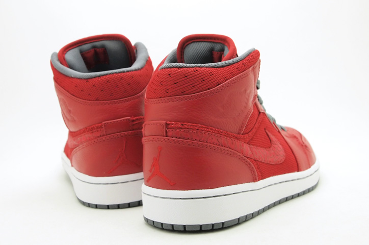 Photo03 - AIR JORDAN 1 PHAT - VARSITY RED/COOL GREY-WHITE