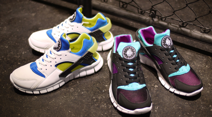 "Photo01 - NIKE HUARACHE FREE RUN ""LIMITED EDITION for EX"""
