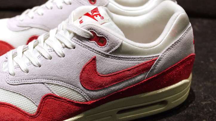 Photo03 - NIKE AIR MAX I OG 「LIMITED EDITION for SELECT」SAIL/UNIVERSITY RED/GREY/BLACK