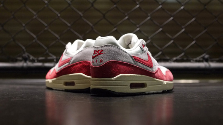 Photo05 - NIKE AIR MAX I OG 「LIMITED EDITION for SELECT」SAIL/UNIVERSITY RED/GREY/BLACK