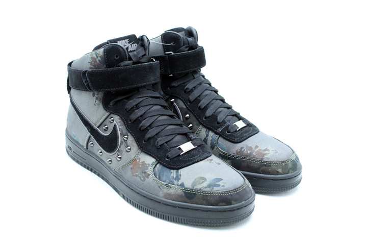 Photo02 - NIKE AIR FORCE I DOWNTOWN QS NEWSPRINT/BLACK 「LIMITED EDITION for NONFUTURE」