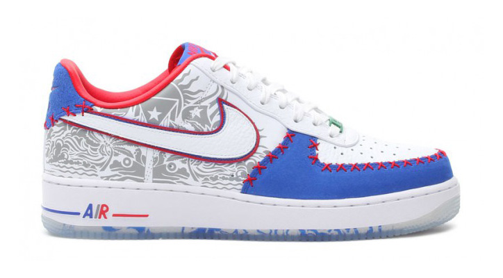 "NIKE AIR FORCE 1 LOW CMFT PRM ""Puerto Rico"""