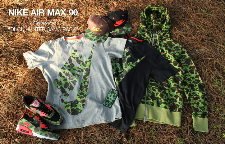 "Photo02 - NIKE AIR MAX 90 PREMIUM ""BLACK TIGER CAMO PACK"" の先行予約を開始"