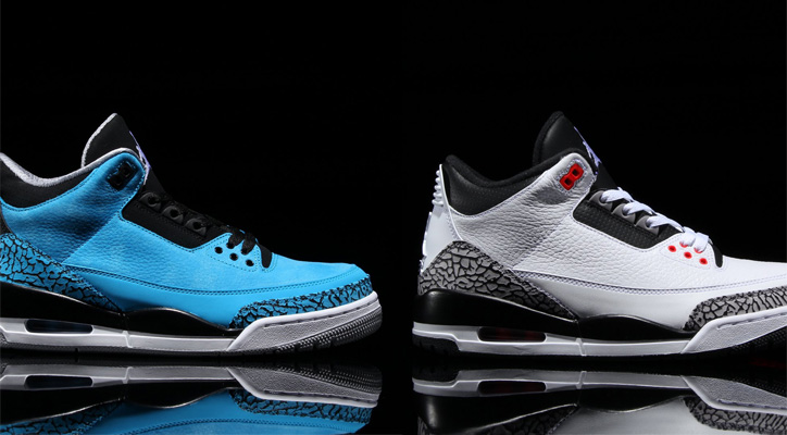 Photo01 - NIKE AIR JORDAN 3 RETRO 2モデル発売