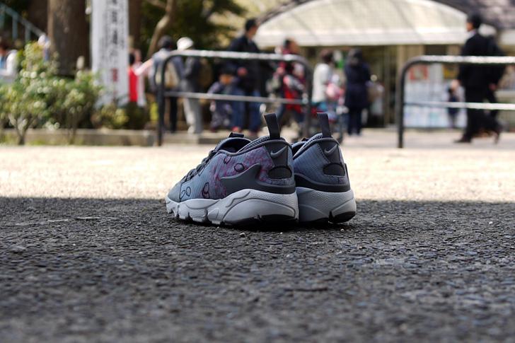 "Photo10 - ナイキから、桜をモチーフにしたmita sneakers提案モデルAIR FOOTSCAPE NM PREMIUM QS ""SAKURA""が発売"