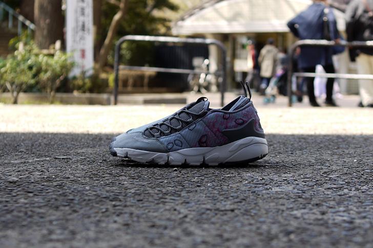 "Photo11 - ナイキから、桜をモチーフにしたmita sneakers提案モデルAIR FOOTSCAPE NM PREMIUM QS ""SAKURA""が発売"