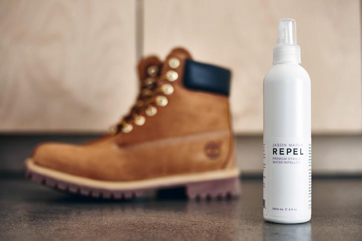 Photo03 - JASON MARKKより、大切なシューズを守る強力な防水(撥水)スプレーREPELが発売