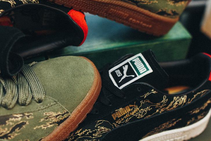 "Photo09 - プーマから、mita sneakersとSBTGがタッグを組み完成したコラボモデルCLYDE CONTACT ""First Contact""が登場"