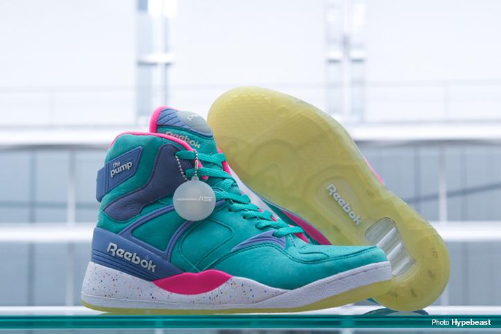 "Photo07 - Reebok THE PUMP ""ELECTRIC CITY"" ""mita sneakers"" ""THE PUMP 25th ANNIVERSARY"" が発売"