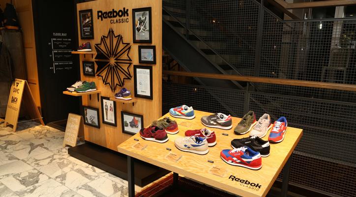 Photo01 - 「Reebok CLASSIC」 POP UP at JOURNAL STANDARD