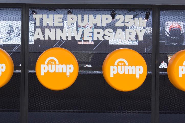 Photo08 - Reebok CLASSICから、「The Pumpテクノロジー」の誕生25周年を記念し、 特設ミュージアムを新宿駅にて展開