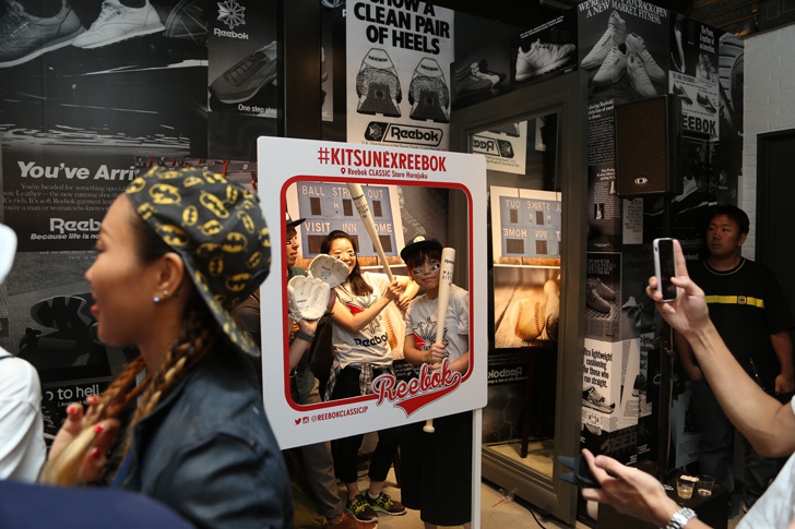 Photo11 - リーボッククラシックとメゾンキツネがベースボールをテーマにしたカプセルコレクションを発表