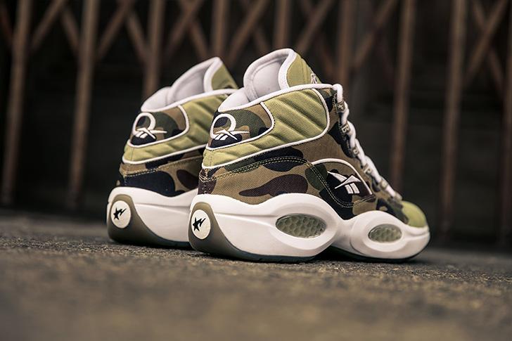 "Photo08 - リーボックから、BAPE®とmita sneakersによるコラボレーションモデルQUESTION MID ""A BATHING APE® x mita sneakers""が発売"