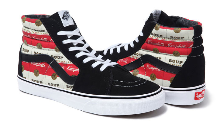 Photo02 - VANS x SUPREME WARHOL CAMPBELLS SOUP PACK