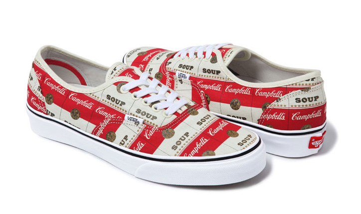 Photo04 - VANS x SUPREME WARHOL CAMPBELLS SOUP PACK