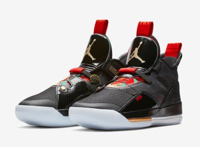 Air Jordan 33 CNY Chinese New Year AQ8830-007 Release Date - SBD